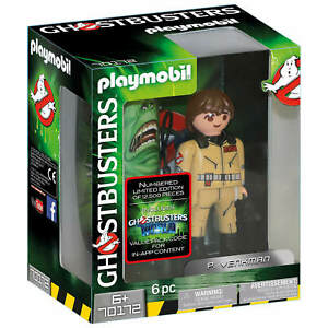 Playmobil Ghostbusters (1984)  P.Venkman 70172  Limited of 12,500 New in Box