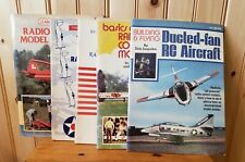 Lot of 5 Vintage Rc Model Airplane Instruction Manuals and Reference Magazines