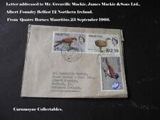 Lettre à M. Grenville Mackie-James Mackie & Sons Ltd Belfast.c1966. AH0289.