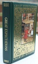 GREAT EXPECTATIONS by Charles Dickens- Gold Edged Great Illustrated Classic 1999