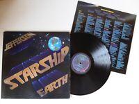 Jefferson Starship Earth Vinyl LP Grunt Records BXL1-2515