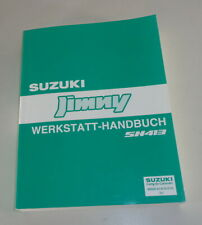 Workshop Manual Suzuki Jimny Sn 413 By 03/2002