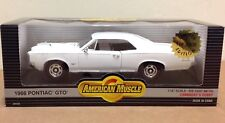 1966 Pontiac GTO ERTL rare White 1:18 American Muscle LE 2500 Cannaday's Hobby