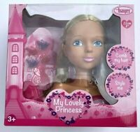 Bayer Princess Doll Girls Head Hairdresser Kids Toy Comb Style New