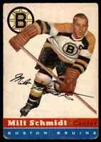 1954-55 TOPPS MILT SCHMIDT BOSTON BRUINS #60