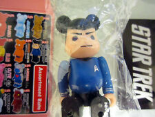 "Medicom Bearbrick Series 19 SF Star Trek ""Spock"" Be@rbrick"