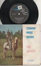"""REG LINDSAY   Rare 1964 Aust Only 7"""" OOP Folk P/C EP """"Country Music Greats"""""""