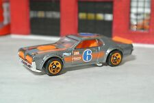 Hot Wheels 2016 '68 Mercury Cougar - Silver / Orange - Loose - 1:64 - Exclusive