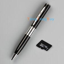 Mini SPY Pen HD Cam Camera Video USB DVR Recording Hidden SpyCam w/ 16GB SD Card