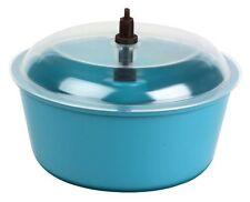 "Polyethylene Bowl Tumbler w/ Lid & 0.05 cu.ft Capacity - 8"" Diameter"