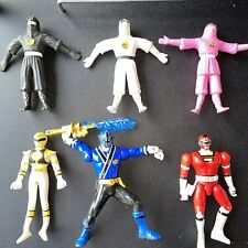 1995 Saban Red Ninjetti Bendable Figure Mighty Morphin' Power Rangers Gordy Toy