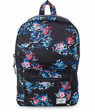 HERSCHEL SUPPLY CO SETTLEMENT MID BACKPACK FLORAL BLUR MSRP $60- BRAND NEW w/TAG