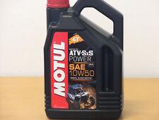 12,96€/l Motul ATV-SxS Power 10W50 4T 4 Ltr vollsyn für 4-Takt Quads