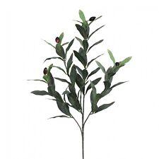 Olivenzweig Kunstpflanze 50 cm mit Früchten künstlich Dekoration Floristik