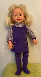 Playmates Amazing Ally Interactive Doll, 1999 Doll-OriginaPurple Outfit