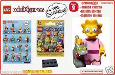 LEGO LISA SIMPSONS MINIFIGURES SERIES 2 , SCONTO 5% SOLO OGGI!