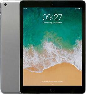 Apple iPad 6 (2018) WiFi + Cellular 32GB (A1954) space gray Neuwertig