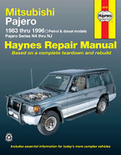 Mitsubishi Pajero Petrol & Diesel 1983-1997 Workshop Repair Manual MPN HA68765