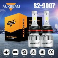 AUXBEAM 9007 HB5 LED Headlight Bulb HI-LO Beam 72W  8000lm 6000K AUTO HID Kit S2