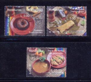 Honduras. Traditional foods UPAEP-2019 MNH Scott C1426-C1428