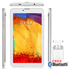 "7"" Android 9.0 Tablet PC w/ Wireless 4G Phone Feature + Free Bluetooth Headset!"