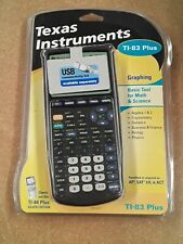 Texas Instruments TI-83 Black Plus Graphing Calculator Brand NEW in clamshell