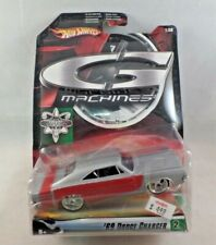 Hot Wheels G Machines 1:50 Scale Diecast '69 Dodge Charger NIP #2/4 Silver 2006
