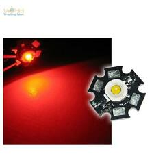 Hochleistungs LED Chip auf Platine 1W ROT HIGHPOWER RED
