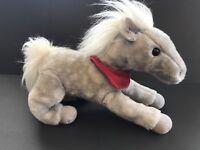 "Wells Fargo Shamrock 13"" Horse Legendary Pony Gray collectible Plush Stuffed toy"