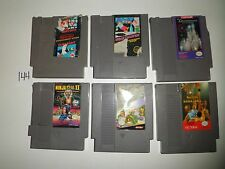 6 GAME NES SUPER MARIO URBAN CHAMPION TMNT NINJA GAIDEN II ADVENTURES #144