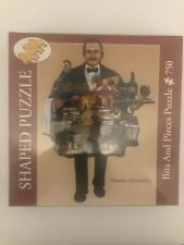 Ruane Manning Bits and Pieces 750 Piece Shaped Puzzle NEW Factory Sealed