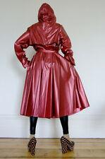 Shiny Metallic PVC Rain Coat, Plastic Raincoat, PVC-U-Like Mac, L, Regenmantel
