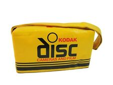 Vintage Kodak Disc Cameras and Film Advertising Bag