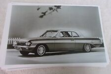 1961 OLDSMOBILE F85 CUTLAS SPORTS COUPE    11 X 17  PHOTO   PICTURE