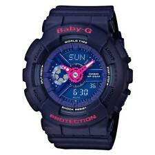Casio BA110PP-2A Womens Baby-G Blue Dial Resin Band Ana-Digi Watch