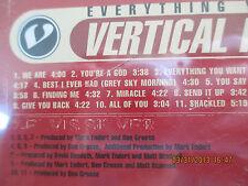 Everything You Want by Vertical Horizon (CD, Jun-1999, BMG/RCA)