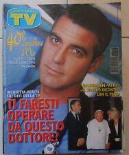 TV Sorrisi e Canzoni n 46 del 1997 Gassman,Vitti,Woityla,Clooney,Carlucci,Golia,