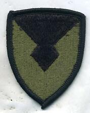 US Army Material Command OD Subdued Patch