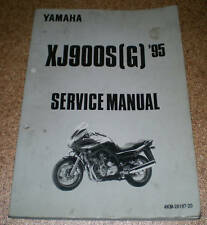 Workshop Manual Yamaha XJ 900 S Stand 1995