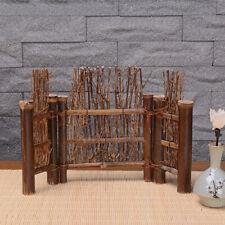 1pc Purple Bamboo Fence Small Screen Zen Tea Ceremony Art DIY Desktop Decoration
