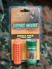 Foxworthy Outdoors Buck Cage Polymer Bead Scent Dispenser - Single Pack ORANGE