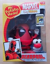 Deadpool Mr. Potato Head Marvel PopTaters San Diego Comic Con 2014 Exclusive