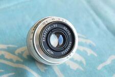 Industar-50 50mm F/3.5 for M39 Fed Zorki Leica
