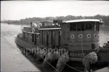 Tugboat MARGARET MATTON Vintage Negative Photo Nautical Maritime Ship