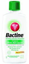 3 Pack - Bactine Original First Aid Liquid 4oz Each