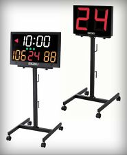 Seiko KT-011 Caster Stand for KT-401 Shot Clock or JT-601 and KT-601 Scoreboards