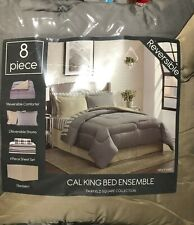 Fairfield Square Collection Navy Yard Reverisble 8-Piece California King Bedding