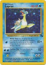 Fossil Pokémon Individual Cards with Holo