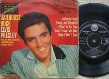 Elvis Presley - Jailhouse Rock - U.K 1960's  Extended Play -  RCX-106