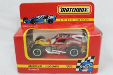Matchbox 1:64 Scale BRETT BODINE 1993 Modified Legends #12